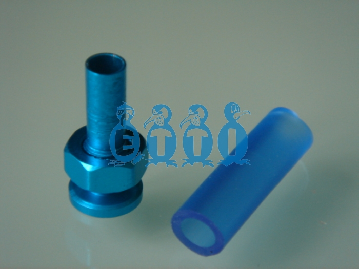 Light-weight Anodized Blue Antenna Holder