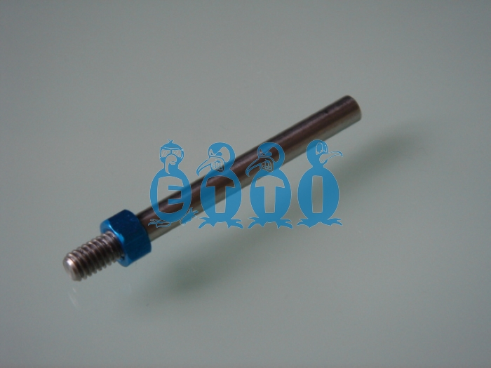 M4 prop shaft for .098(2.5mm) flex cable (45mm long)
