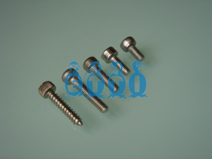 Stainless Steel Cap Head Screw M2.5 x 8mm (10 Pcs)
