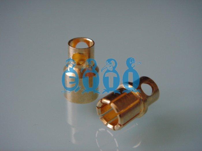 8mm Gold Plug (Pack for 2 pairs)