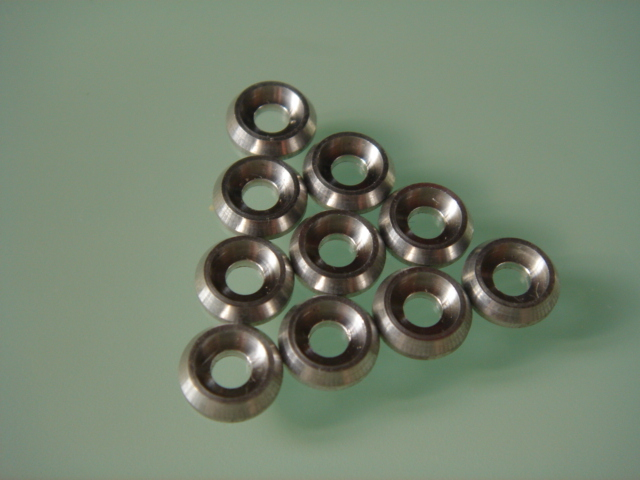 Aluminum Alloy M4 Cap Screw Washer (10 pcs)