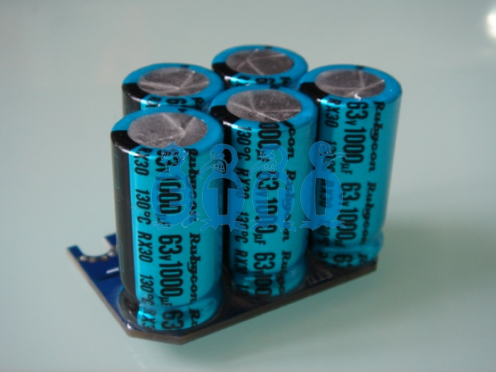 High Voltage Power Cap's Module (63V, 5000u)
