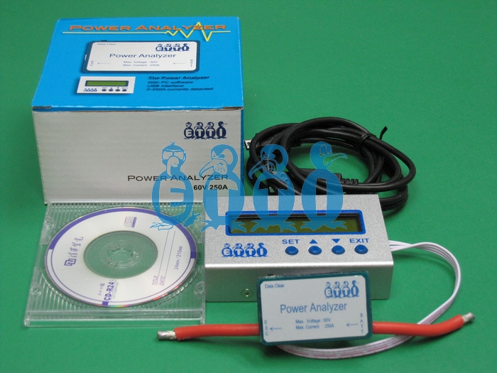 250A/60V Power Analyzer Completed Set