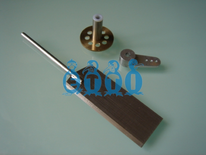 ECO Rudder completed set   (50 x 20mm)