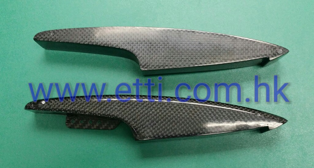 Mini Angel Sponson (Carbon Fiberglass)