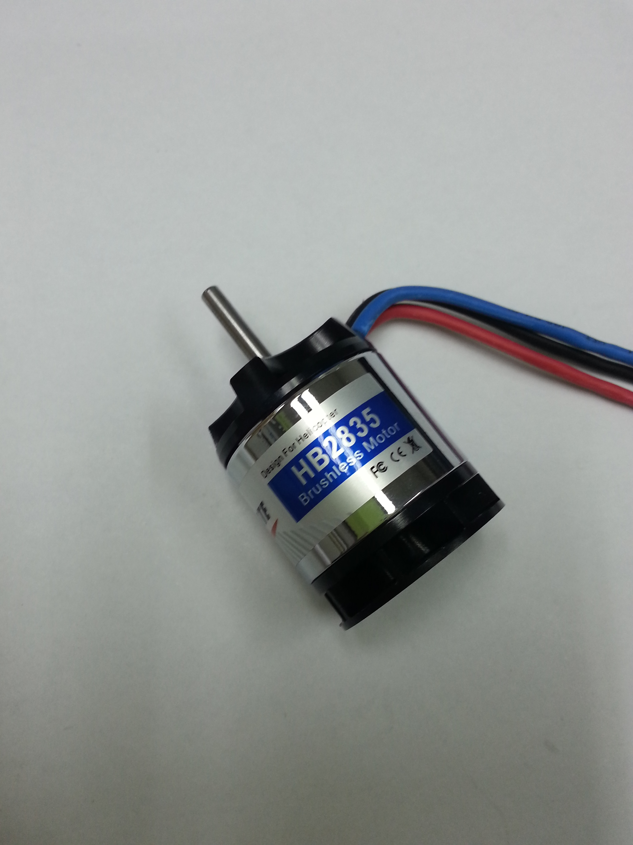 Fan-cooled 6-pole Outrunner Brushless Motor HB2835 (3600kv)