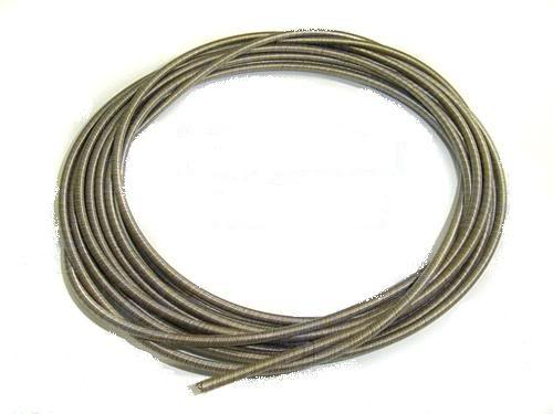 ".187""(4.7mm) Flex cable c/w Telfon Tubing in 500mm long"