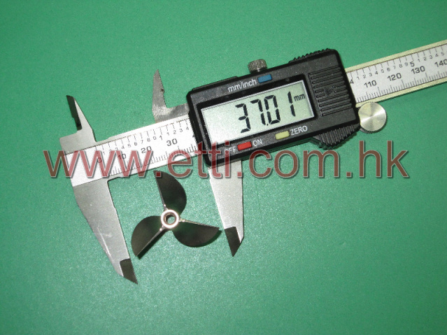 CNC Aluminum Alloy V937 3-blade Prop (37mm)(Right side rotation)