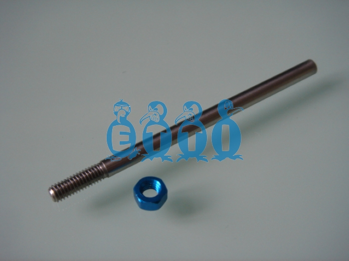 M4 prop shaft for .098(2.5mm) flex cable (70mm long)
